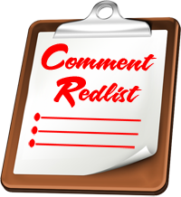 WordPress Comment Redlist