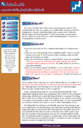 personal website screenshot