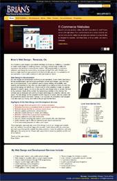 previous brianswebdesign.com screenshot